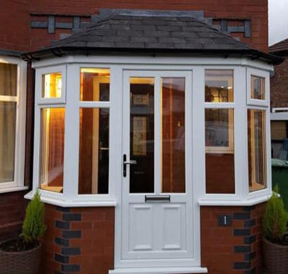 Porch urmston near manchester